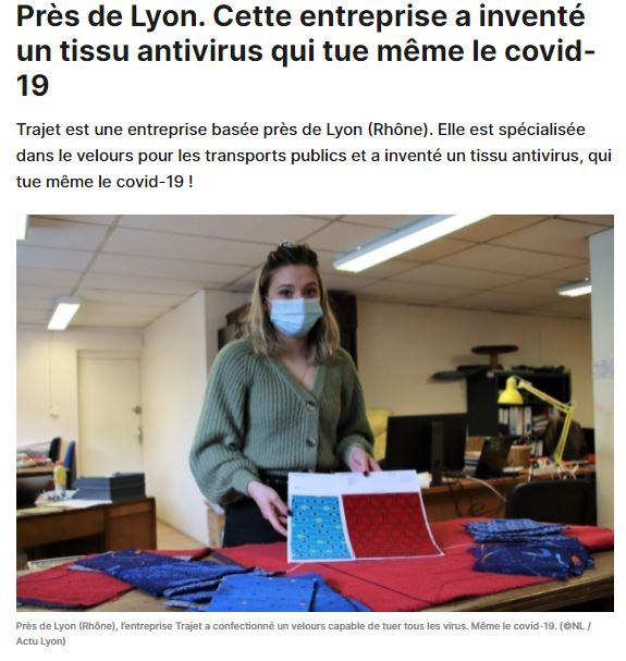 Article Le Parisien 01062020