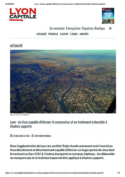 Article Lyon Capitale 20052020